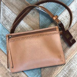NWT Frye Belt Bag larger capacity tan